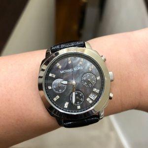 Michael Kors stainless steel watch